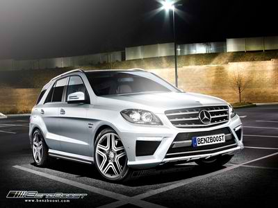 400 ml63amgbb2 1 The 2012 Mercedes ML 63 AMG Premiers at the LA Auto Show