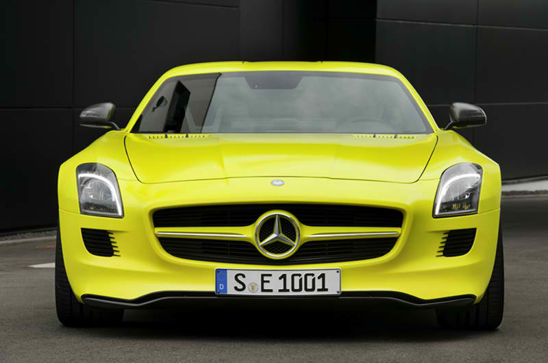The First All-Electric AMG  SLS AMG E-Cell 3