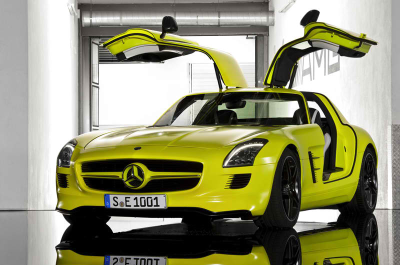 The First All Electric AMG SLS AMG E Cell 4 The First All Electric AMG : SLS AMG E Cell
