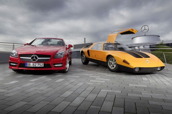 mercedes Benz slk250 7 597x398 Diesel in a Sportscar? The SLK 250 CDI Made it Possible
