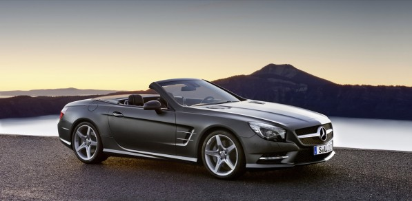 06 2013 mercedes benz sl 597x292 The 2013 Mercedes Benz SL will start at 93,534 Euros
