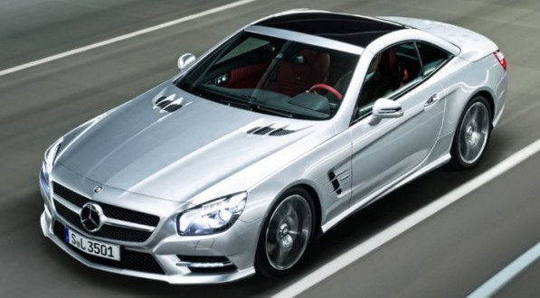 2013 sl 597x330 No Hybrid or Diesel Versions For Mercedes SL