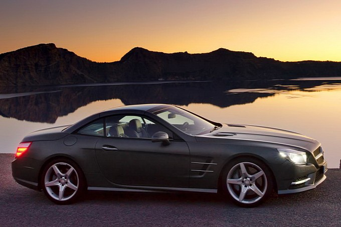 Another Leak Official Photos of the 2013 Mercedes SL Roadster12