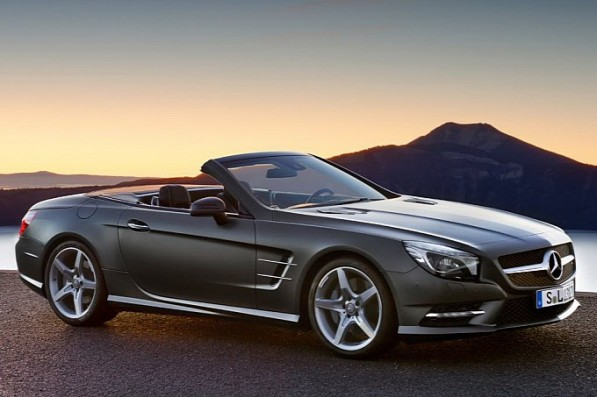 Another Leak Official Photos of the 2013 Mercedes SL Roadster13 597x397 Another Leak: Official Photos of the 2013 Mercedes SL Roadster