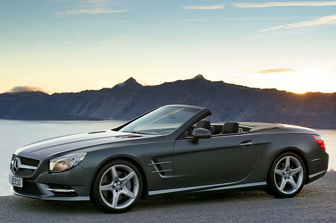 Another Leak Official Photos of the 2013 Mercedes SL Roadster14