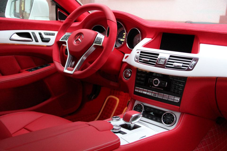 Carlsson Provided Excellent Interior To The Cls 63amg