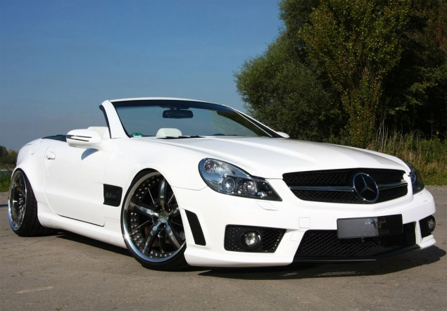 German Tuner PP Specialist Tunes the Mercedes SL5