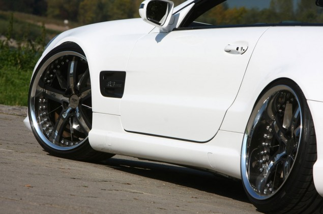 German Tuner PP Specialist Tunes the Mercedes SL6