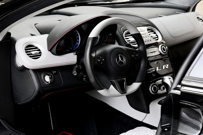 McLaren Mercedes SLR 722 by