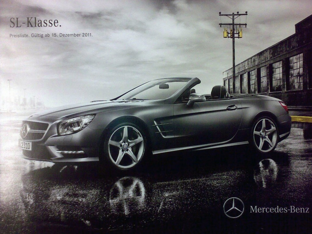 Scans of 2013 Mercedes SL, Leaked!5