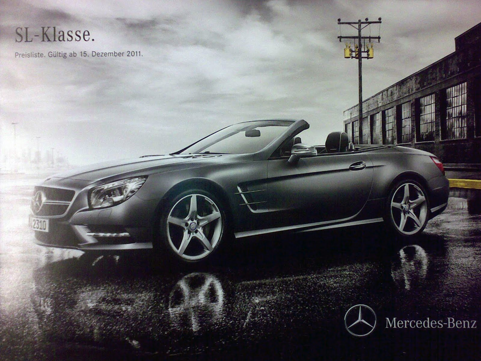 Scans of 2013 Mercedes SL, Leaked!5