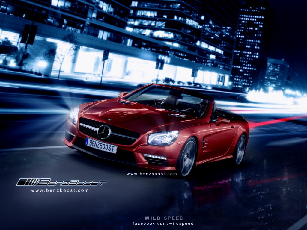2013 SL63 AMG's Renderings