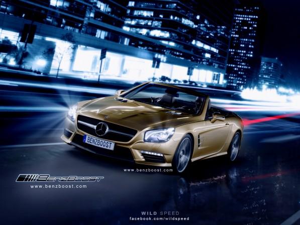 2013 SL63 AMGs Renderings10 597x447 2013 SL63 AMGs Rendering by BenzBoost