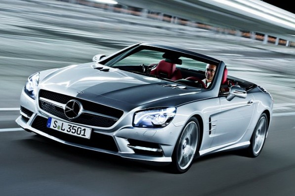 Another Leak Official Photos of the 20Streaming Live on Facebook The 2013 Mercedes Benz SL13 Mercedes SL Roadster8 597x397 Streaming Live on Facebook : The 2013 Mercedes Benz SL