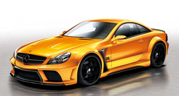 Japanese Tuner Veilhouse's Rendering of their Mercedes SL R320 Kit