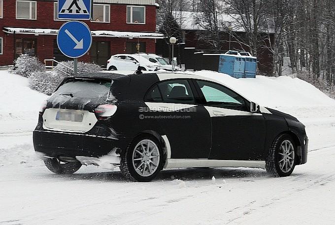 Mercedes A-Class Spyshots3