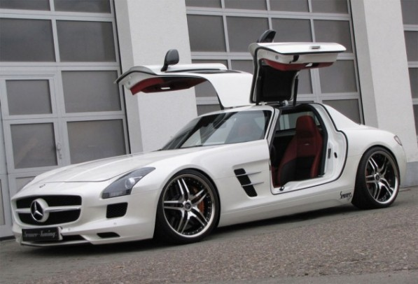 Mercedes Benz SLS AMG Tuned by Senner 597x406 Mercedes Benz SLS AMG  Tuned by Senner