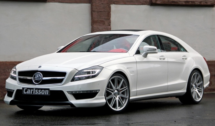 Red and White Dream CLS63 AMG Kit by Carlsson