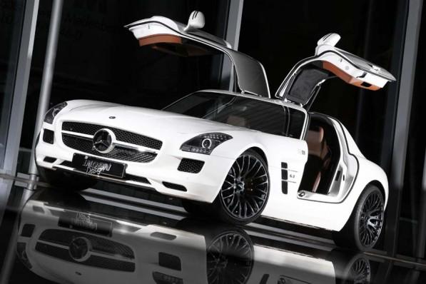 indenSLS 597x398 Inden Tweaks The Mercedes SLS AMG