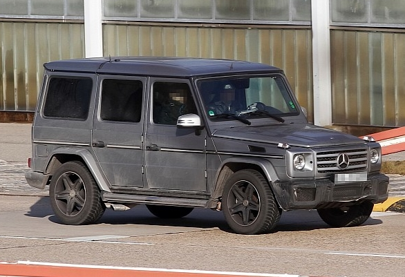 spyshots mercedes benz g65 amg 3 Mighty V12 G Class Closer To Showrooms