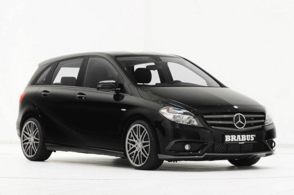 Brabus Worked on the new Mercedes B Class 597x396 Brabus Worked on the new Mercedes B Class