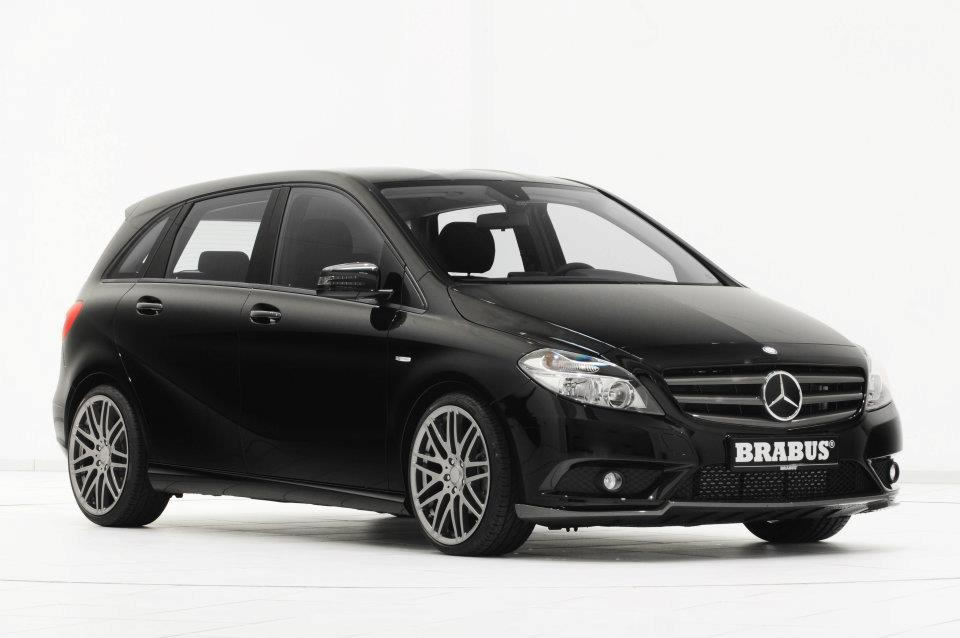 Brabus Worked on the new Mercedes B-Class