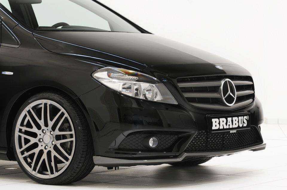 Brabus Worked on the new Mercedes B-Class12