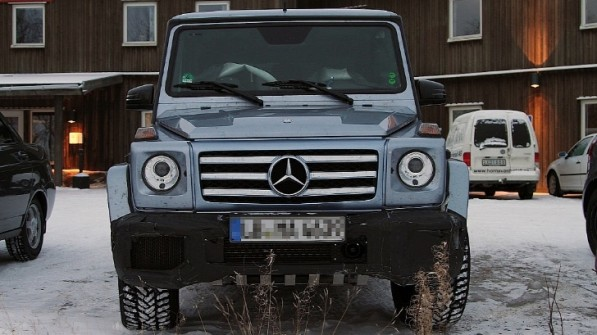 G55 AMG 597x335 Facelifted G Class To Receive Powerful AMG Engines