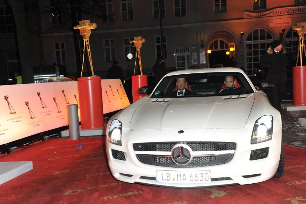 47. GOLDENE KAMERA der HÖR ZU - Vorfahrt in Berlin am 04.02.2012