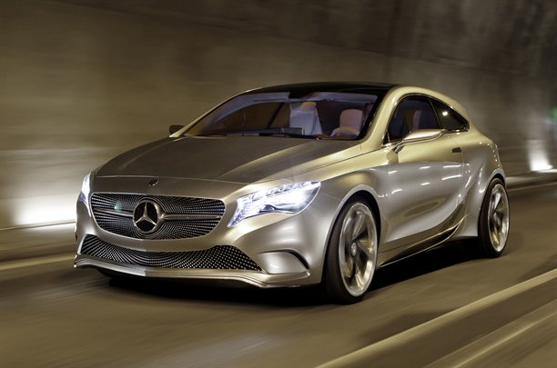 Mercedes source says they are looking at producing a small for Best looking mercedes benz models