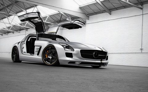 Wheelsandmore Version of the SLS AMG Wheelsandmores Version of the SLS AMG
