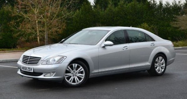 s class LWB 597x318 Mercedes Benz S Class is on the highest insurance loss list