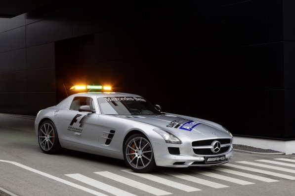 12C247 02 597x398 Mercedes Safety And Medical Cars At F1 Season Opener