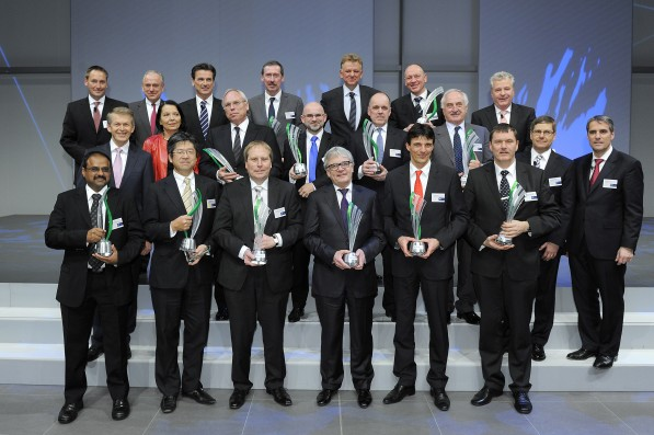 20120315 Daimler Supplier Award 2011 597x397 Daimler Honors Its Top Suppliers