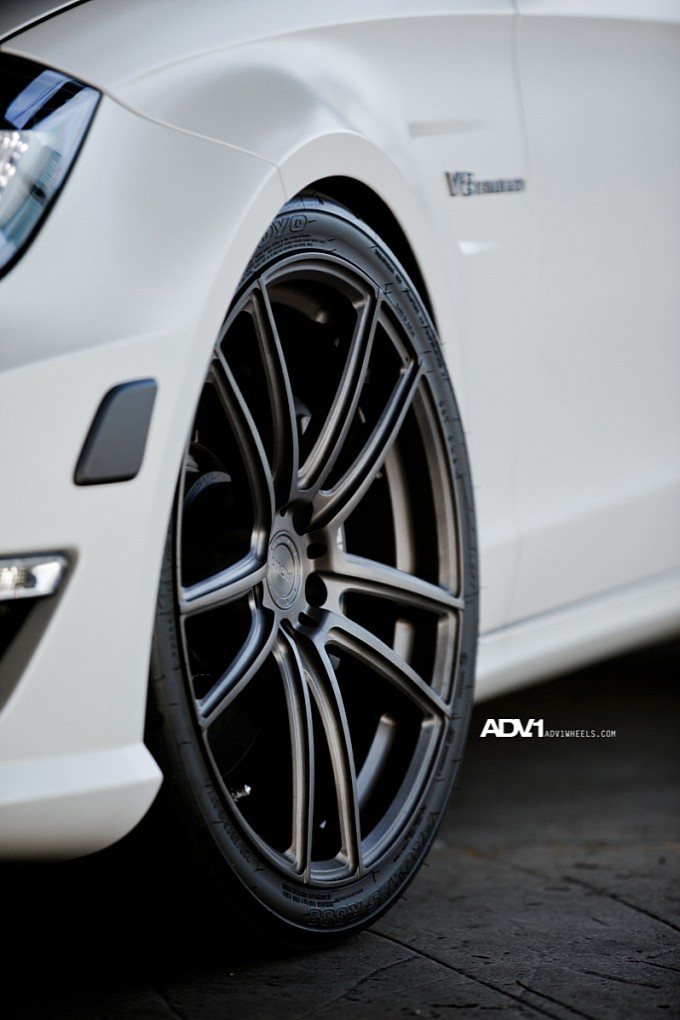 ADV1 Wheels ADV.1 Wheels on the Mercedes CLS63 AMG