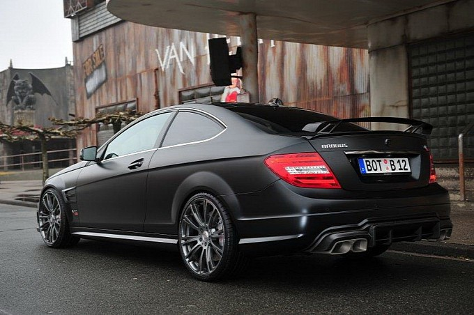 Bullit The Fastest And Most Expensive C63 Amg By Brabus