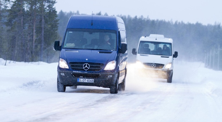 Mercedes Revealed the 2013 Mercedes Sprinter with 7G Tronic