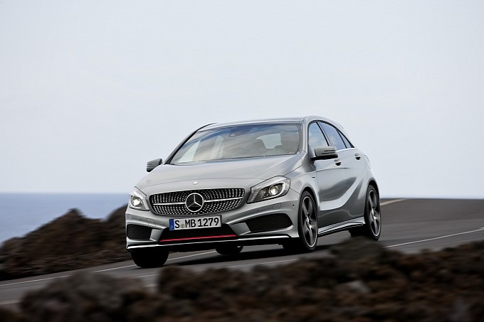 The More Official Photos of the Mercedes A Class30 The More Official Photos of the 2012 Mercedes A Class
