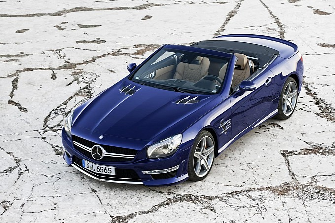 The New 2013 Mercedes SL65 AMG with V12 Biturbo