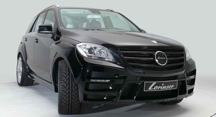 Lorinser's Version of the New Mercedes M-Class