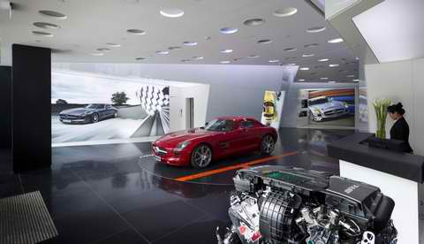 Stand Alone AMG Performance Center Now in Beijing2