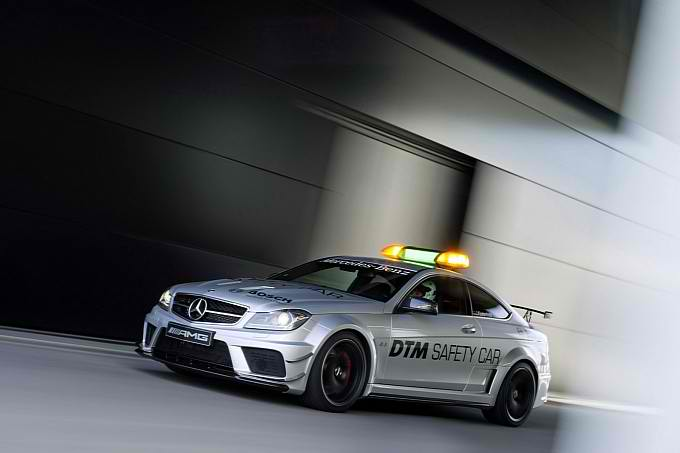 The New DTM Safety Car is the Mercedes C63 AMG Coupe Black Series5