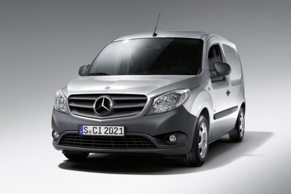 citan 597x398 Mercedes Benz Citan Unveiled