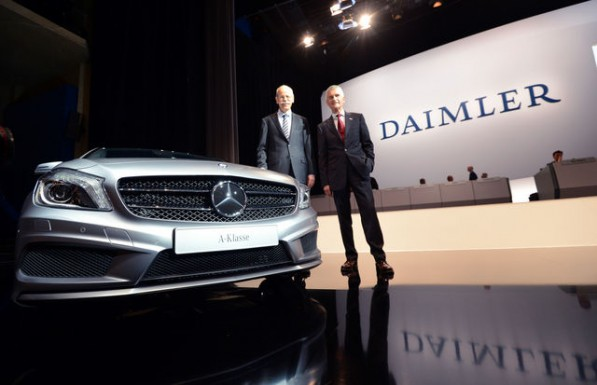 daimler quarterly earnings unexpectedly rise on mercedes demand 597x385 First quarter profits exceed analyst predictions
