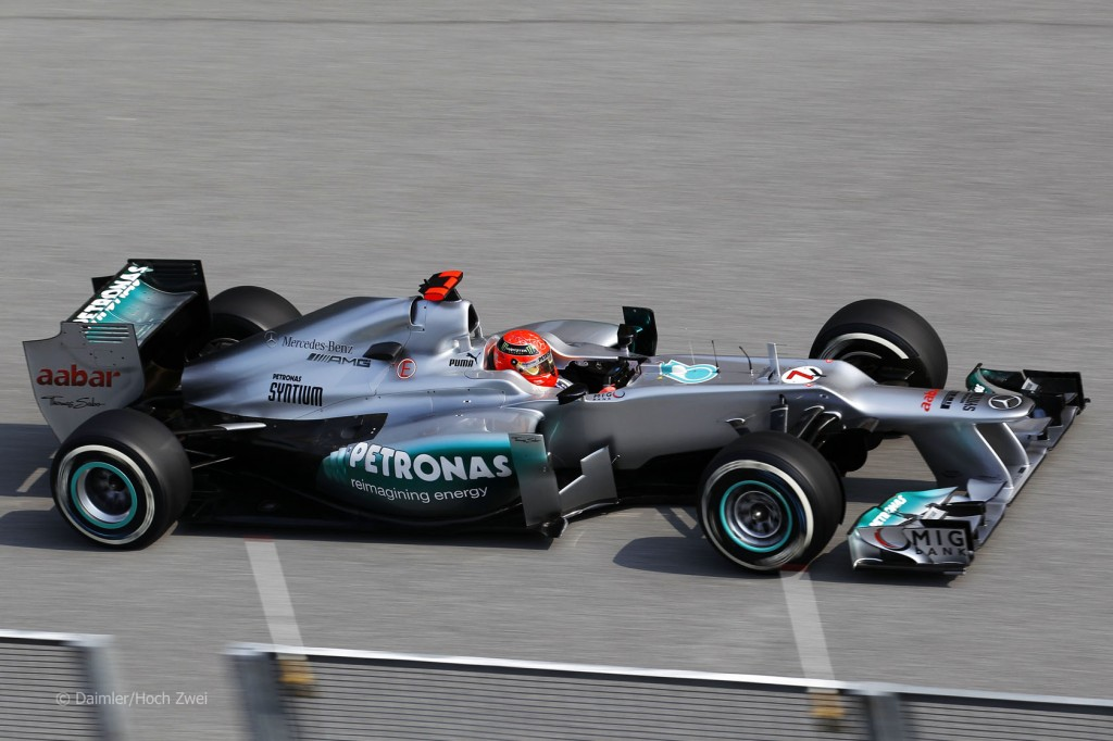 merc schu sepa 2012 1 1024x682 Open Season For F1 Teams Going Into Shanghai Race