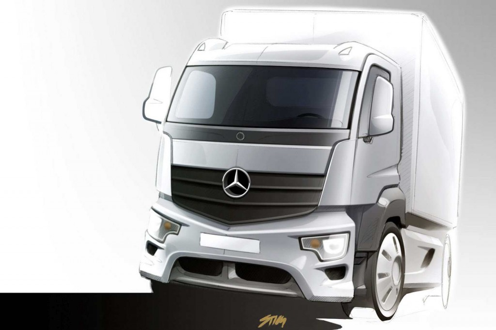 Antos 001 1024x682 New Antos Added to Mercedes Truck Range