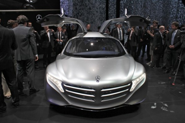 F125 597x397 Mercedes Planning Two Hydrogen Powered Cars