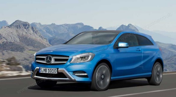 MB GLA artistimpression 597x331 Introducing the Mercedes Benz GLA