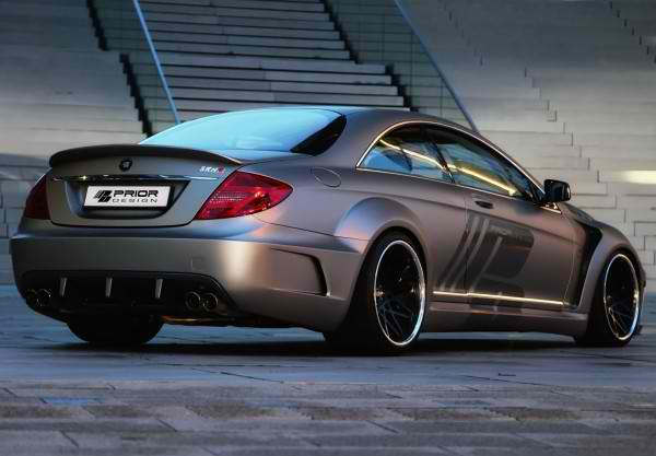 Prior Design Got Their Hands on the Mercedes-Benz CL for the Second Time4