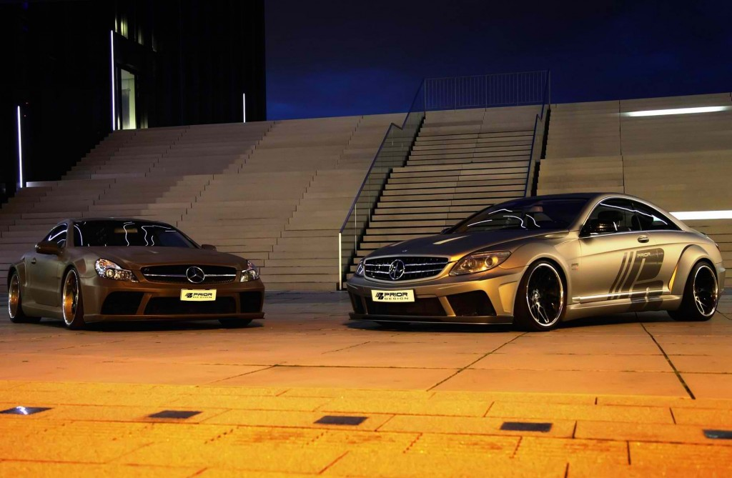 Prior Design Got Their Hands on the Mercedes-Benz CL for the Second Time5